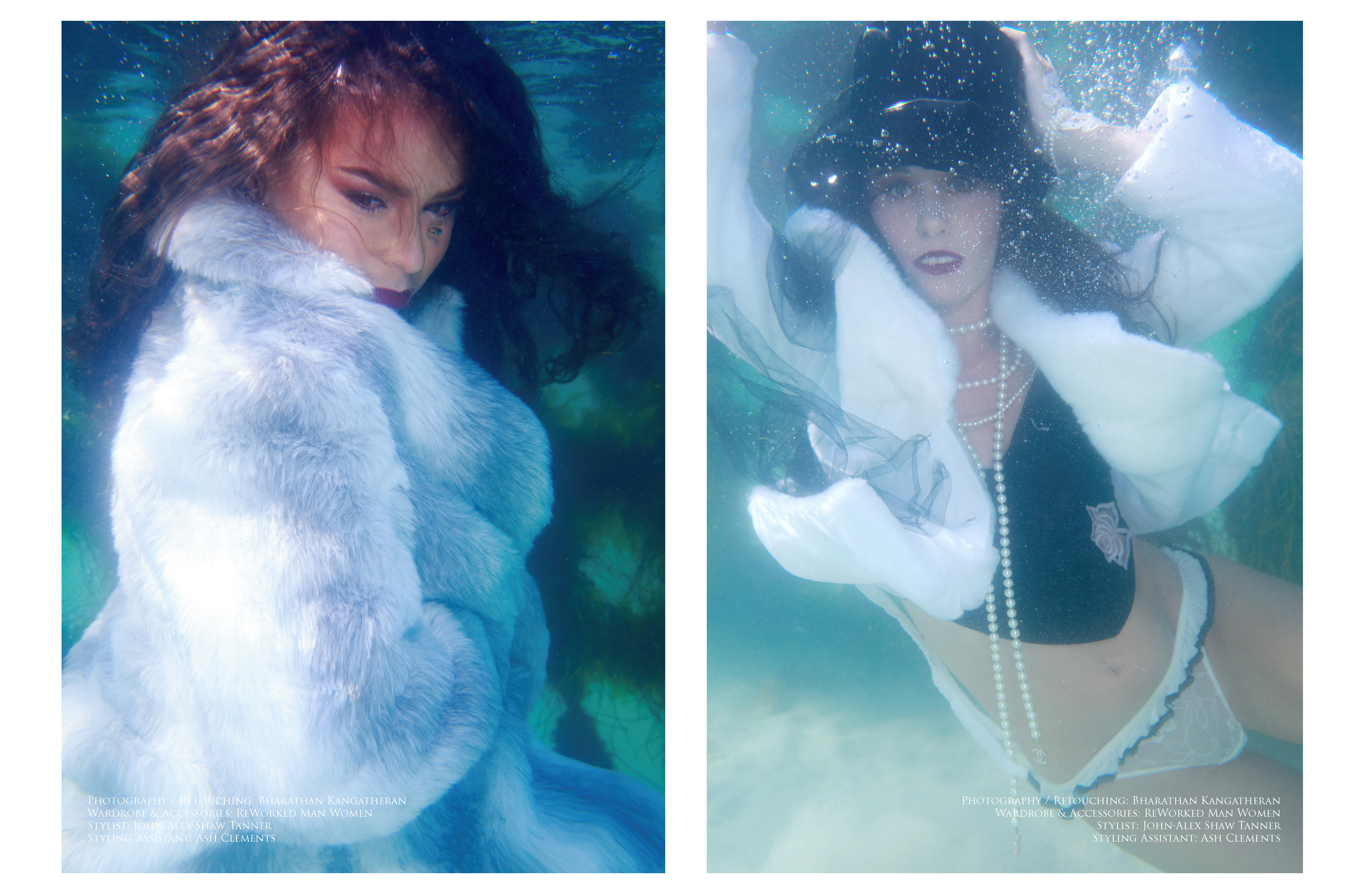 Underwater Photography by BK @ The Shed Studios